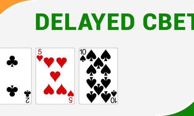 Delayed continuation bet